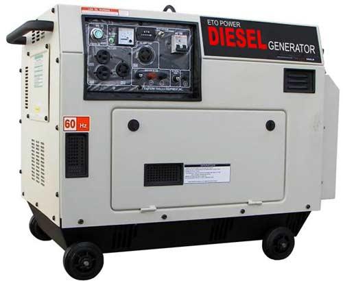 Buy ETQ 6000 Diesel Generator