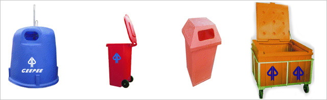Waste Bins and Refuse collector