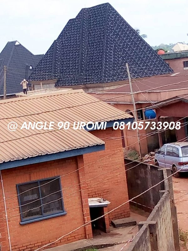 Buy Stone Coated Step Tiles Roofing Sheets In Lagos Nigeria