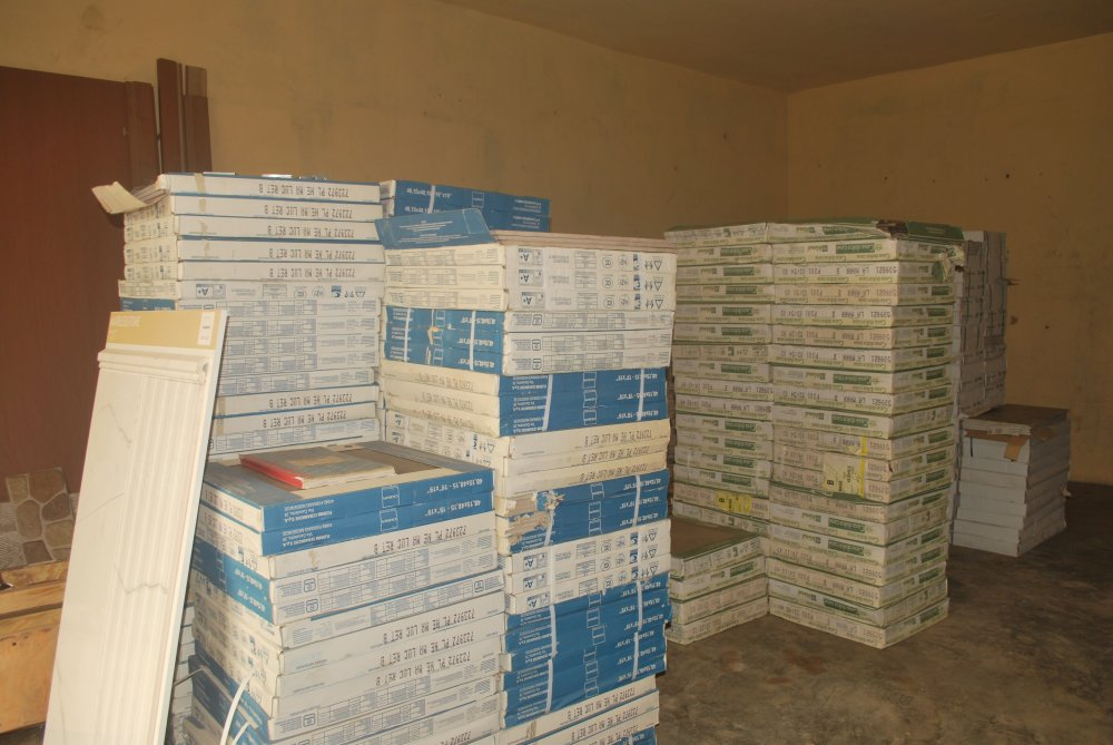 Buy FLOOR AND WALL TILES, SANITARY WARE, KICTHEN CABINET