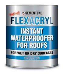 Buy FLEXACRYL-Instant Waterproofer for roofs