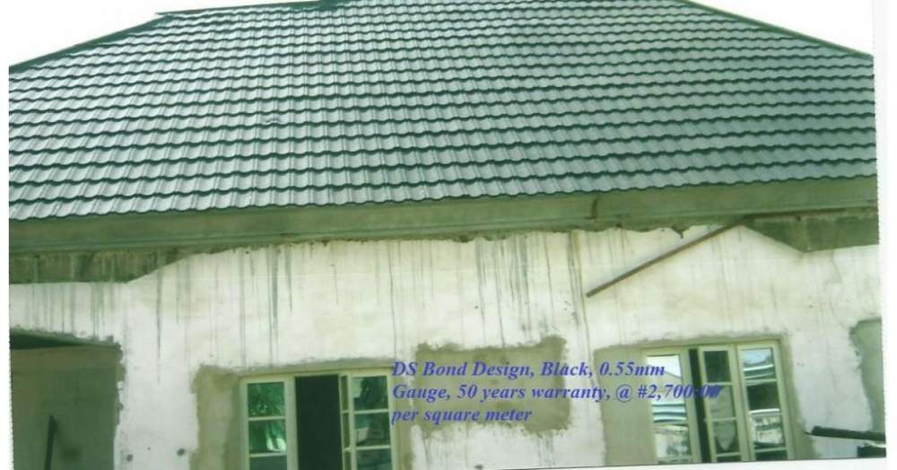 Buy DS STONE COATED STEP TILES ROOF SHEET MANUFACTURED IN SOUTH KOREA