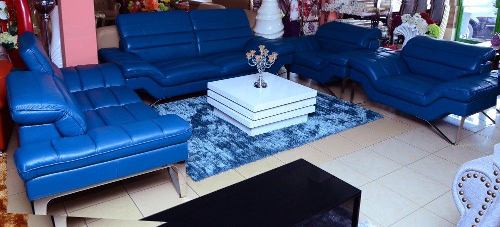 Buy Angelica leather sofa