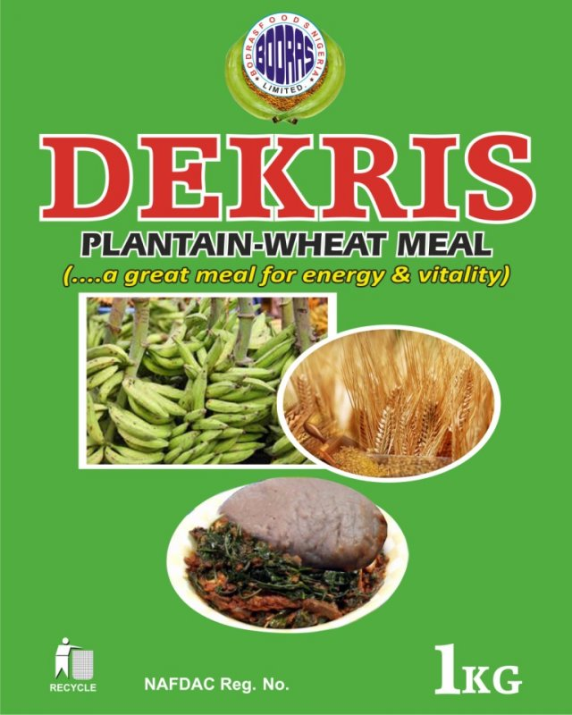 Buy Dekris Plantain-Wheat Meal
