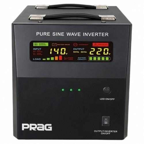 Buy Prag 1.2KVA/12V Pure Sine Wave Inverter