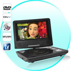 Car DVD Player with FM audio transmitter/USB/SD