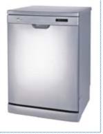Kelvinator KFD212 Dishwasher