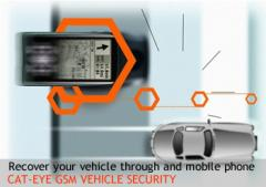 Cat-Eye GSM Vehicle Security
