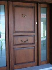 Extra high doors