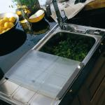 Contemporary style sinks