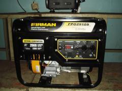 FIRMAN FPG2910S Generator