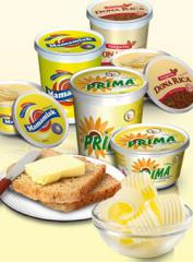 Domestic cooking margarine