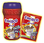 Twisco powdered chocolate drink