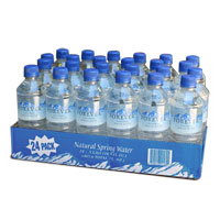 Natural Spring Water - Case of 24