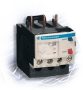 Thermal overload relay with manual or automatic