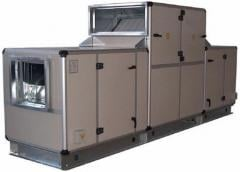 Air handling units and fan