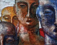 Painting of Segun Aiyesan