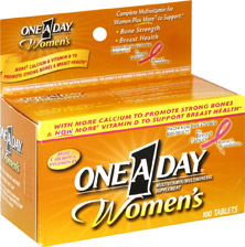 One-A-Day Women's Tablets (100 Tablets)