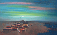 Memories, oil by Zinno Orara