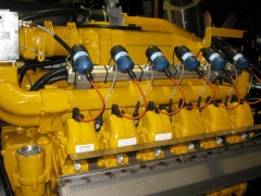 MAN generator engines