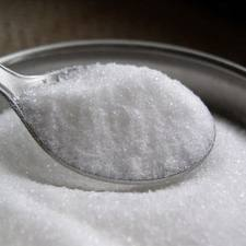 Whit refined Sugar