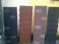 Original imported stone coated step tile roofing sheet from Batlan Concept Limited