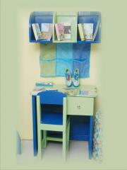 Study Table with Wall Shelf  Cosys&crafts