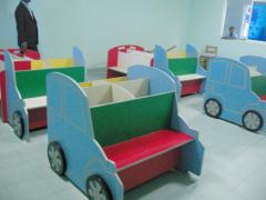 Furniture for kindergartens and elementary school
