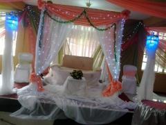 Divine cake and decoration