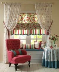 Curtains and window blinds