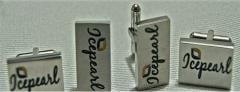 Custom cufflinks, keychain, lapel pin, tie clip
