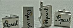 Custom cufflinks, keychain, lapel pin, tie clip and pen holder