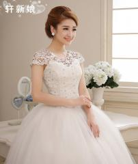 2014 vintage lace Wedding Gown