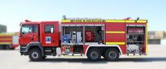 Bristol oil field fire fighting vehicle