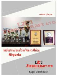 Award/Plaque Trophies, Crystal Glass, Advertising