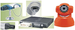 CCTV,Spy cameras,Monitor alarm,Data detection