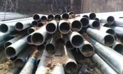 Glavanised steel pipes