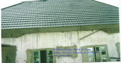 DS STONE COATED STEP TILES ROOF SHEET MANUFACTURED IN SOUTH KOREA