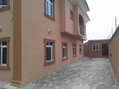 New, beautifully finished,detached, 5 bedrooms duplex with a room BQ
