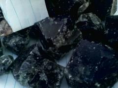 Blue rough Iolite
