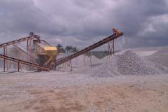 Granite, sand
