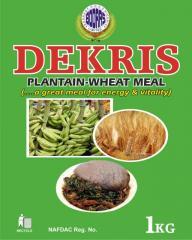 Dekris Plantain-Wheat Meal