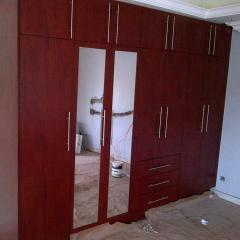 Wardrobes brown