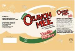 Mimee Crunchmee Vanilla Flavour 15g (Snack