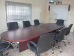 Training venue rental: conference rooms, seminar halls and workbenches