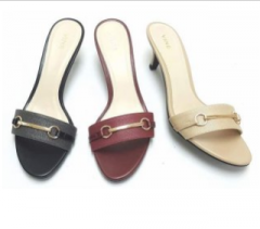 Women's sandals in different colors