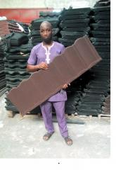 Stone coated roofing sheet docherich