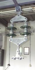 Double suspension insulator string up to 35 kV