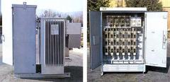 Package transformer substations