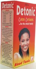 Detonic Iron & Vitamins Formula Enriches